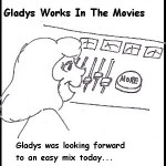 "Gladys Comics: The ""More Button"""