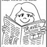 Gladys Comics: Travel News Plus Wrap Equals…