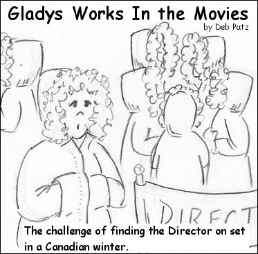 Glady Works in the Movies: The Outdoor Winter Shoot