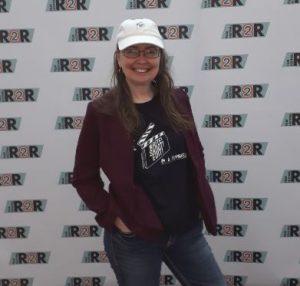 Deb at R2R Festival